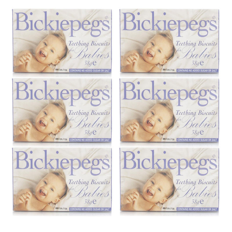 Click to view product details and reviews for Bickiepegs Teething Biscuits Babies 6 Pack.