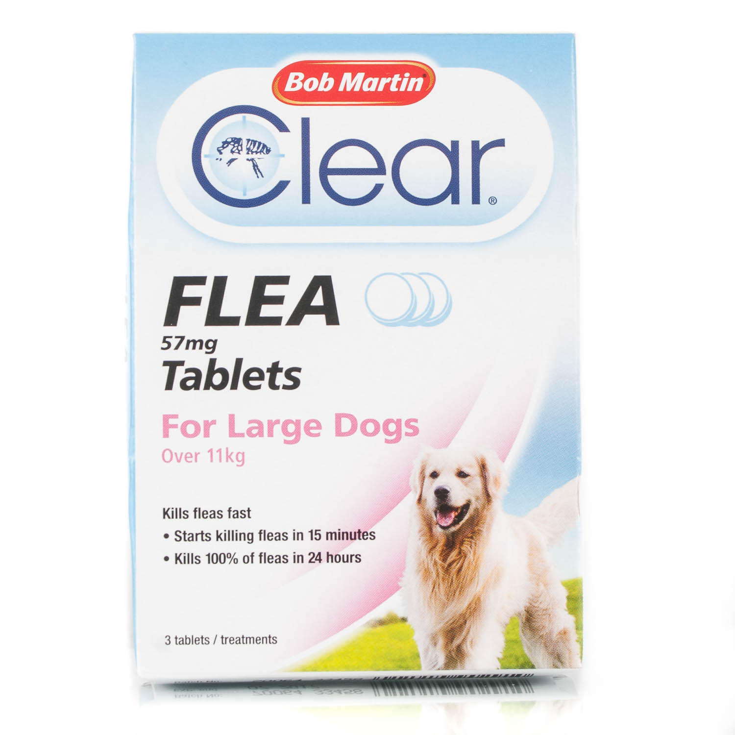 Click to view product details and reviews for Bob Martin Flea Tablets For Large Dogs Over 11kg.