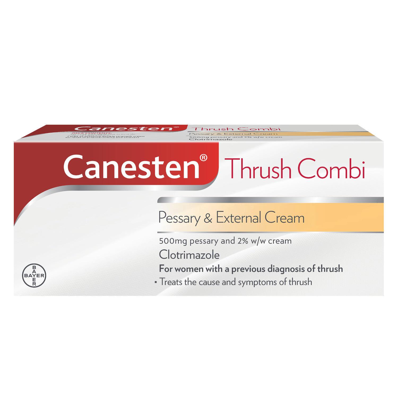 Canesten Combi Pessary & Cream 2%