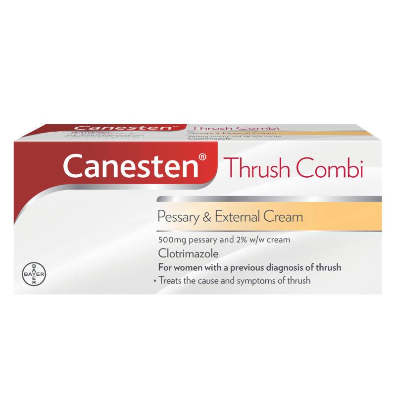Canesten Combi Pessary Cream Chemist Direct