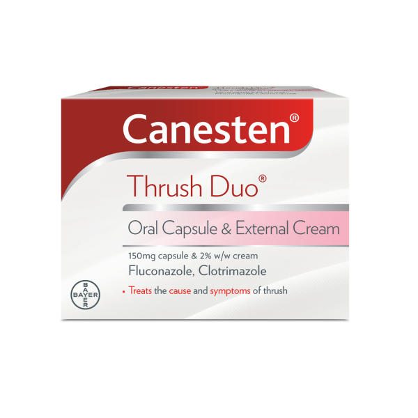 Canesten Thrush Duo Oral Capsule & External Cream