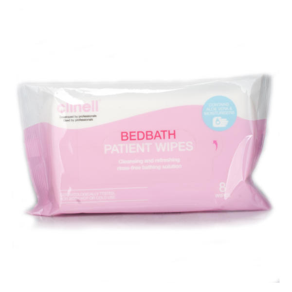 Clinell Bed-Bathing Wipes