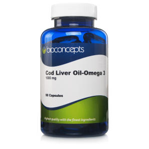 Bioconcepts Cod Liver Oil Soft Gels 1000mg