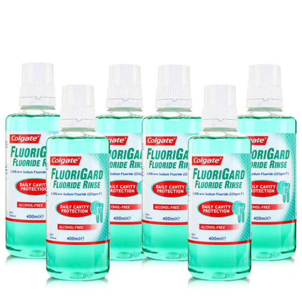 Colgate FluoriGard Alcohol Free Mouth Rinse Six Pack