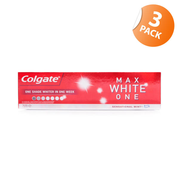 Colgate Max White One Toothpaste - Triple Pack