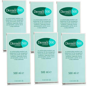 Dermol 500 Lotion 500ml - 6 Pack