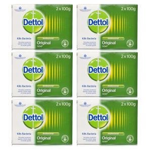 Dettol Anti-Bacterial Original Bar Soap 12 Pack