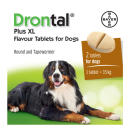 Drontal Plus XL Worming Tablets For Dogs