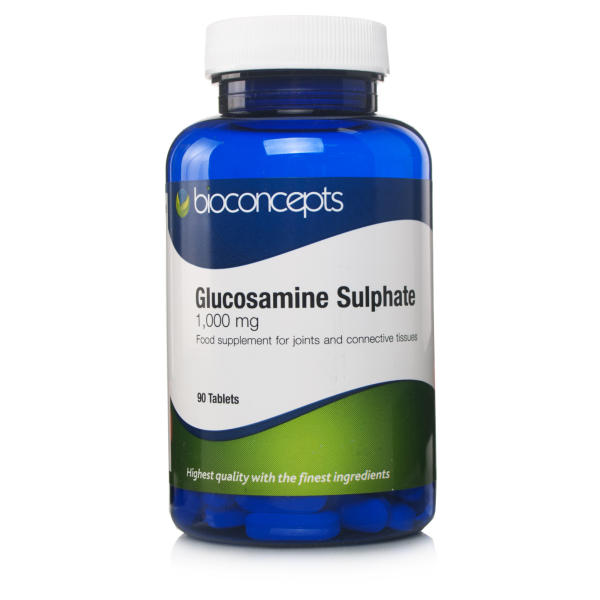 Bioconcepts Glucosamine Sulphate 1000mg Tablets