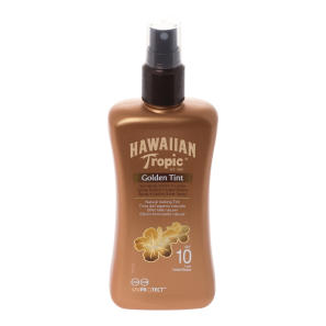 Hawaiian Tropic Golden Tint Sun Spray SPF10 200ml