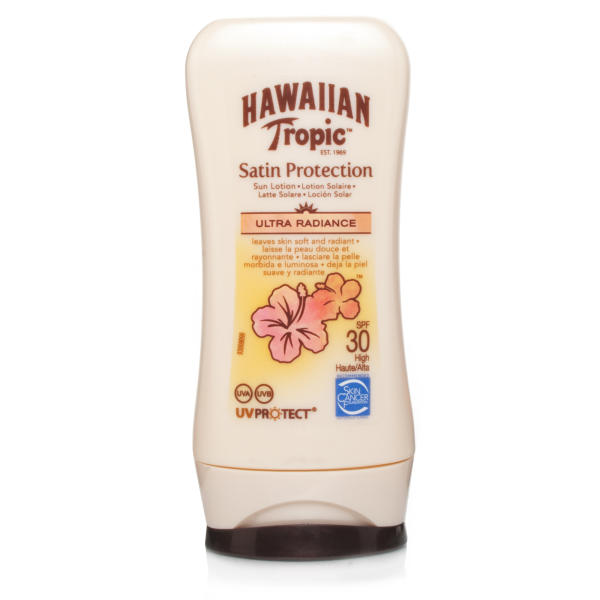 Hawaiian Tropic Satin Protection Sun Lotion SPF30 Mini Bottle