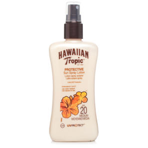 Hawaiian Tropic Satin Protection Sun Spray Lotion SPF20 200ml
