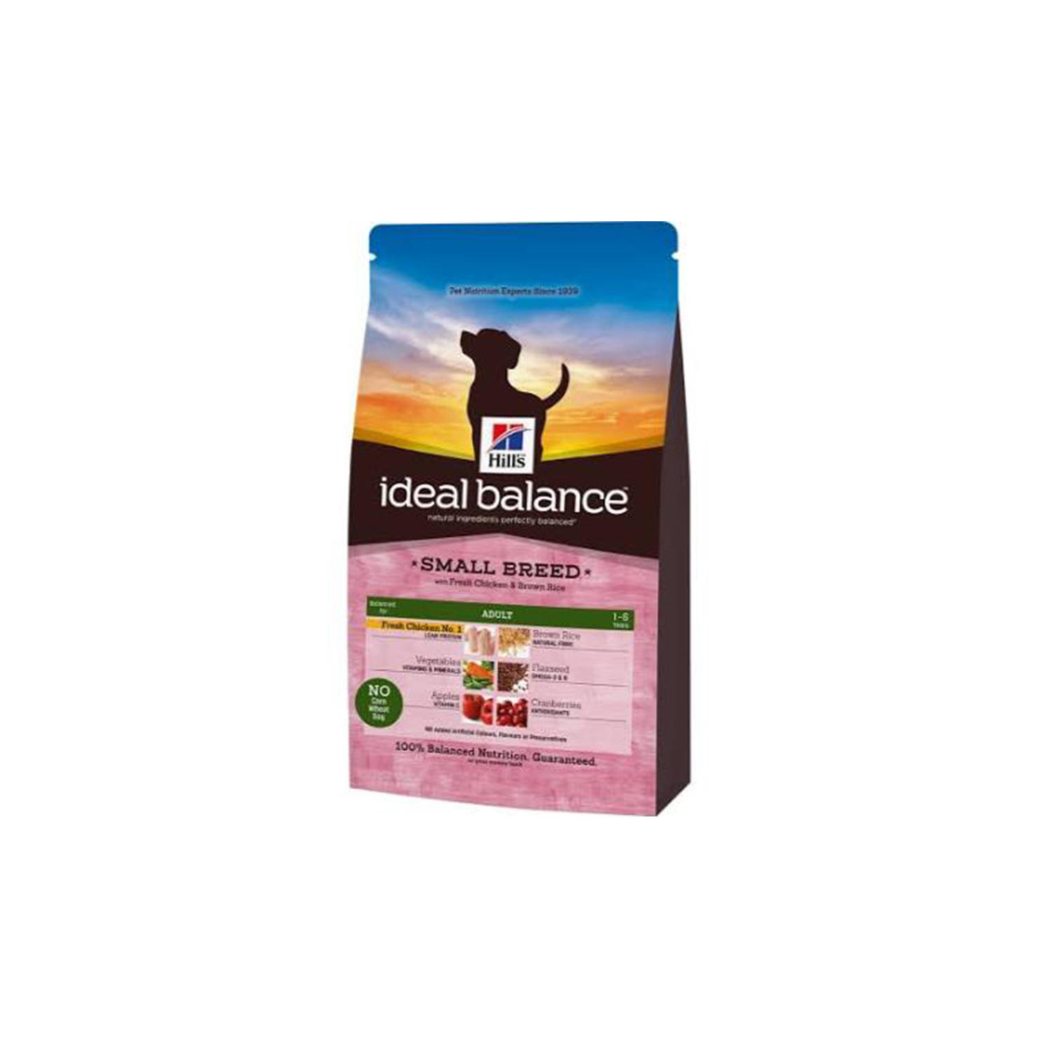Hills Ideal Balance Canine Adult With Fresh Chicken And Brown Rice