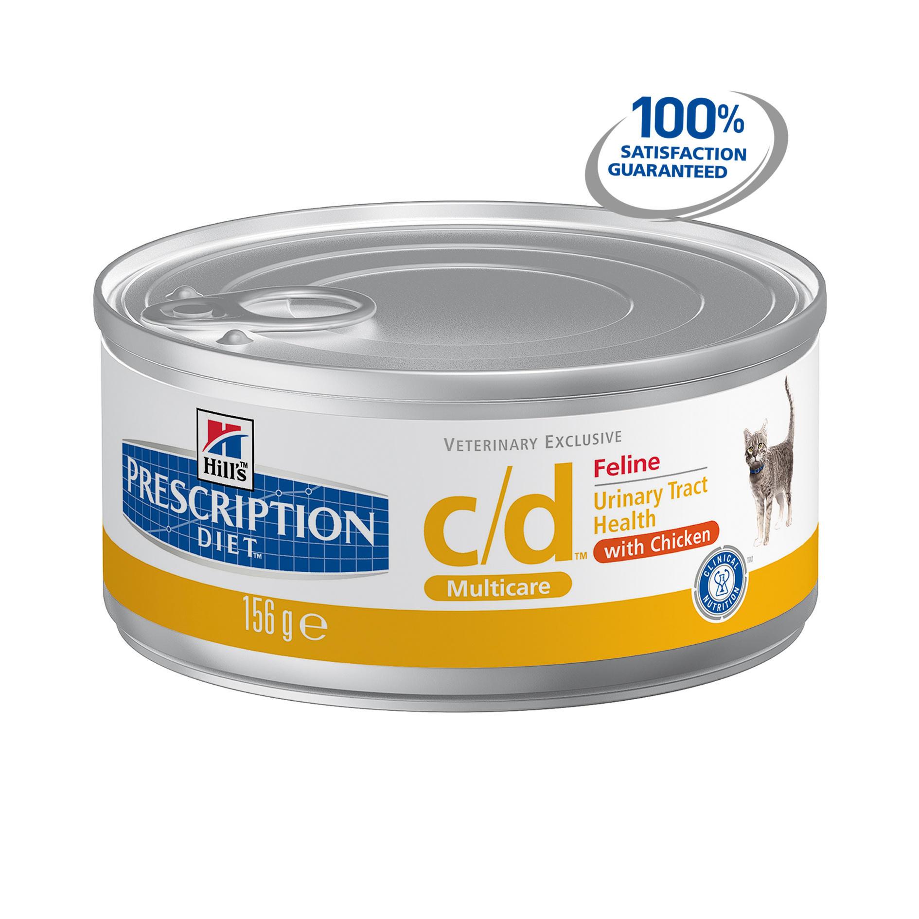 Hills Prescription Diet Feline C D With Chicken Canned
