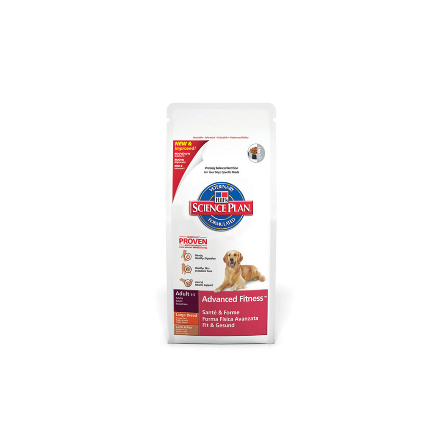Click to view product details and reviews for Hills Science Plan Canine Adult Advanced Fitness Medium Lamb.