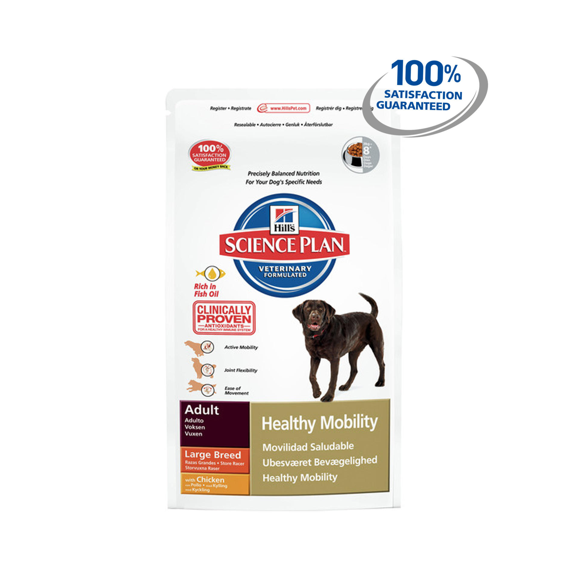 Click to view product details and reviews for Hills Science Plan Canine Healthy Mobility Large Breed Chicken.