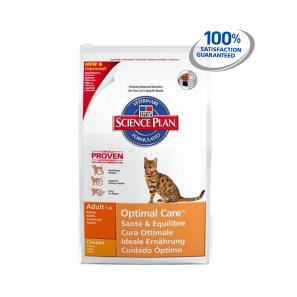 Hills Science Plan Feline Adult Optimal Care with Chicken