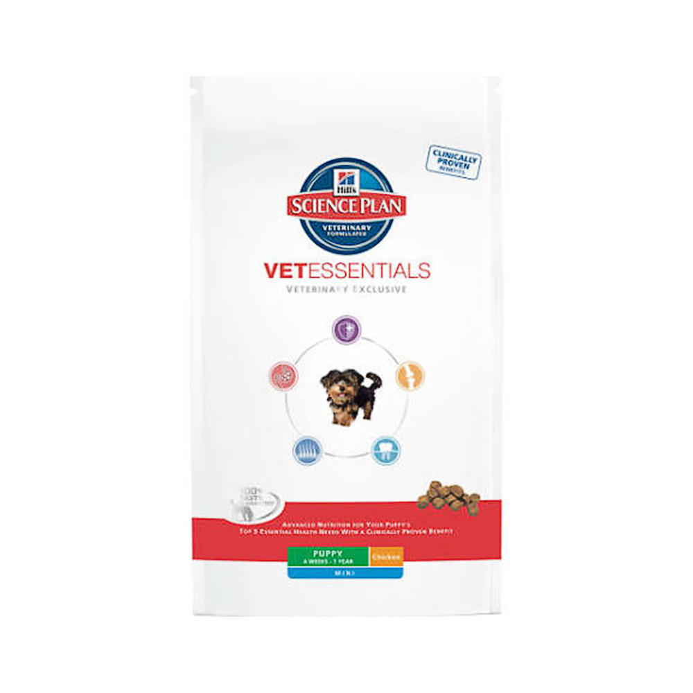 Click to view product details and reviews for Hills Science Plan Vet Essentials Puppy Mini Chicken.