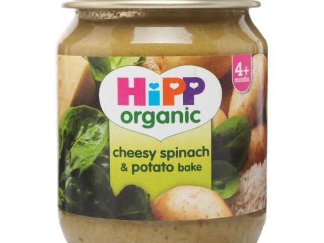 HiPP Stage 1 Organic Cheese & Spinach Bake