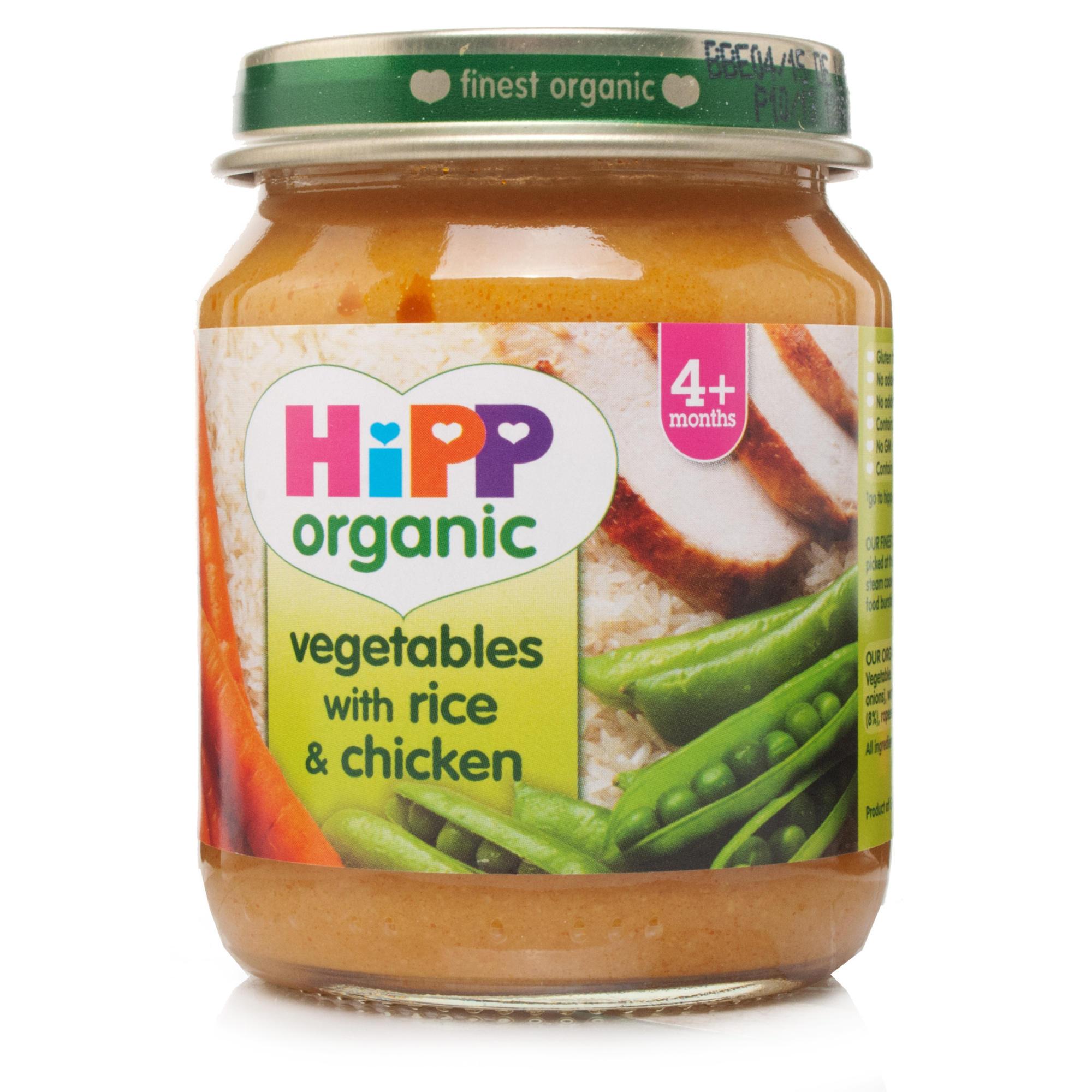 HiPP Stage 1 Organic Vegetables Rice & Chicken