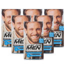 Just For Men Moustache & Beard Brush-In Colour Light-Medium Brown - 6 Pack