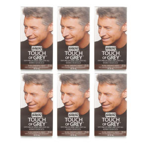 Just for Men Touch Of Grey Dark Brown Grey - 6 Pack