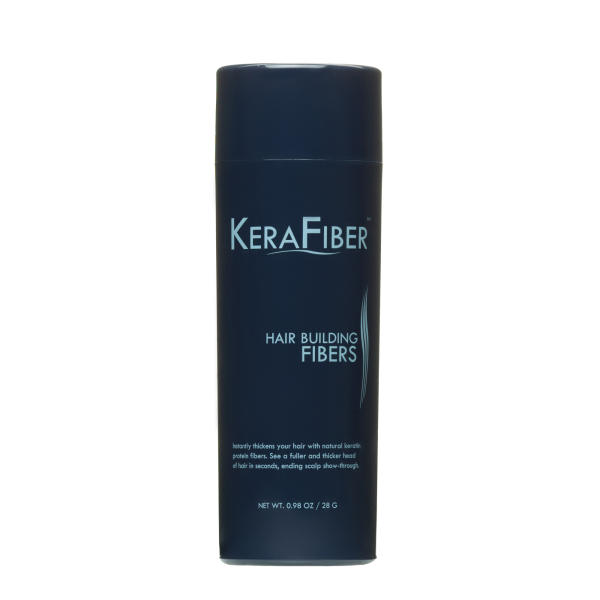 Kerafiber Hair Building Fibers - Grey 28