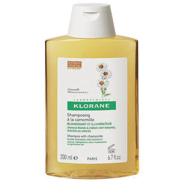 Klorane Camomile Shampoo Blonde Hair 200ml