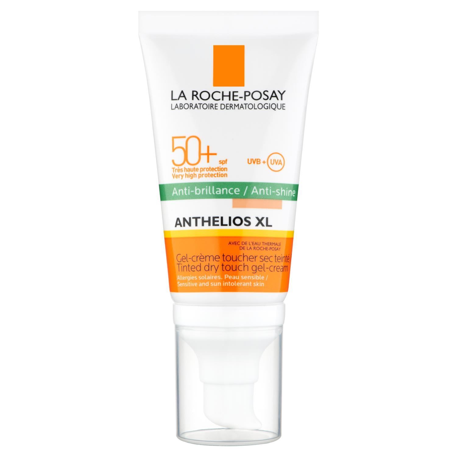 La RochePosay Anthelios Tinted Dry Touch Gel Cream SPF50 50ml
