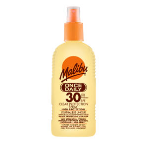 Malibu Clear Protection Once Daily SPF30