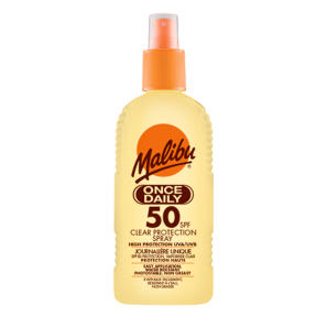 Malibu Once Daily Clear Protection SPF50