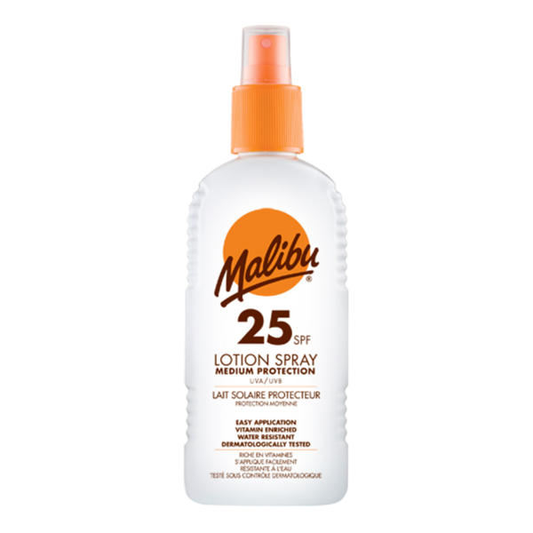 Malibu Sun Lotion Spray SPF25