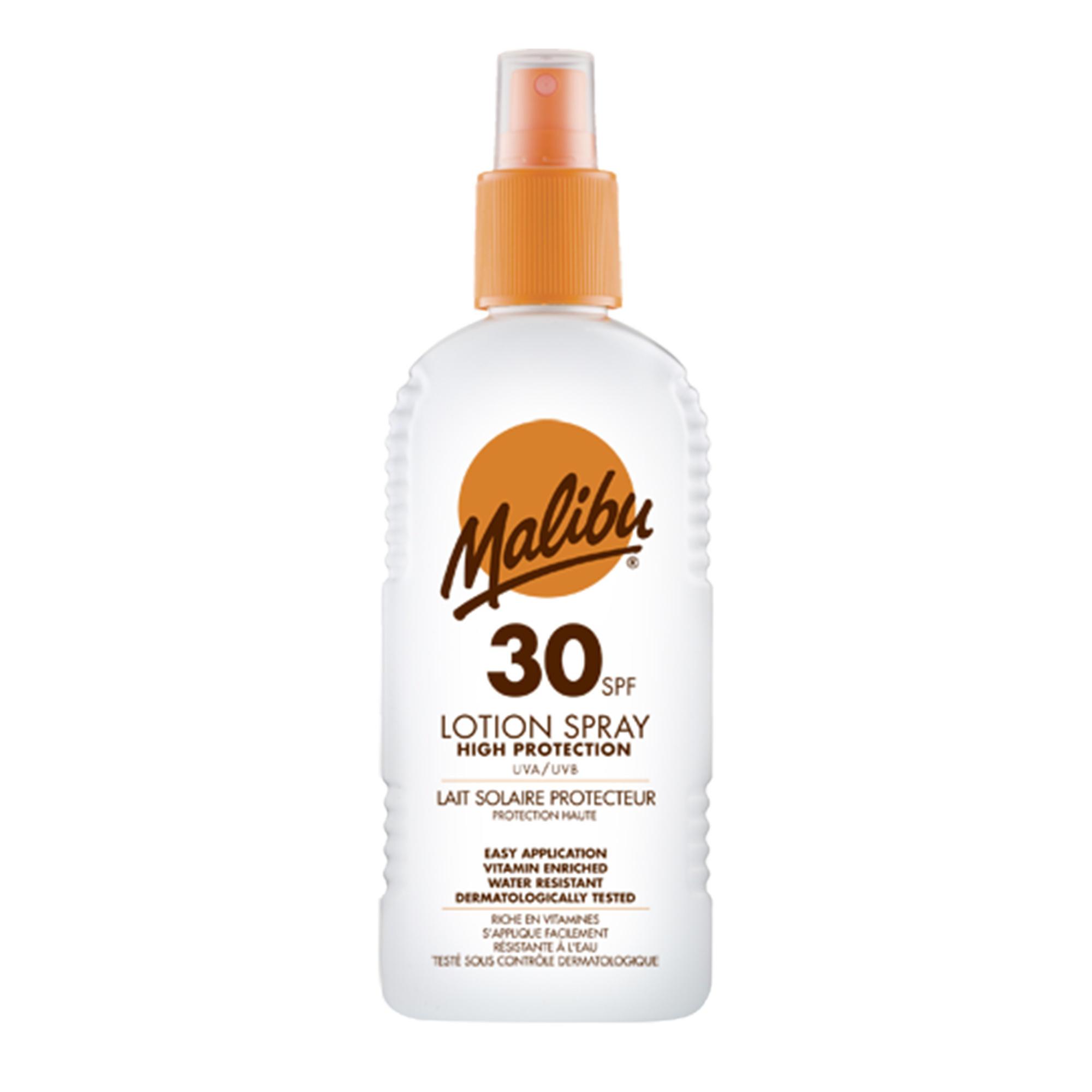 Malibu Sun Lotion Spray SPF30