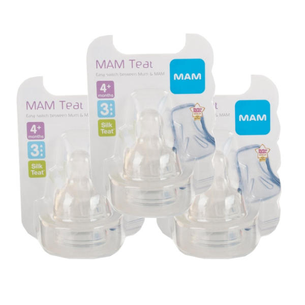 MAM Teat 3 Fast Flow Triple Pack