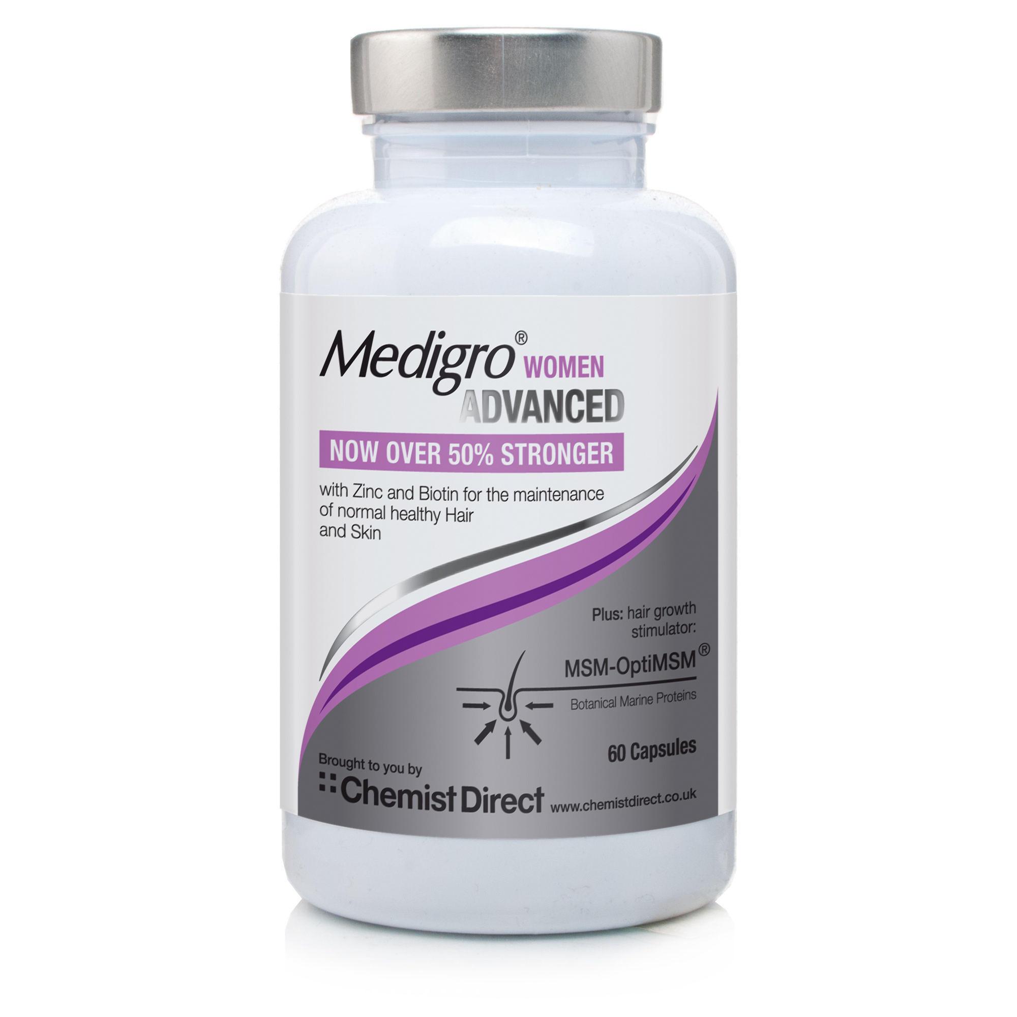 MediGro Advanced Hair Supplement Treatment for Women