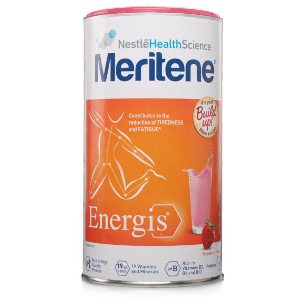 Meritene Energis Strawberry Shake Tin 270g