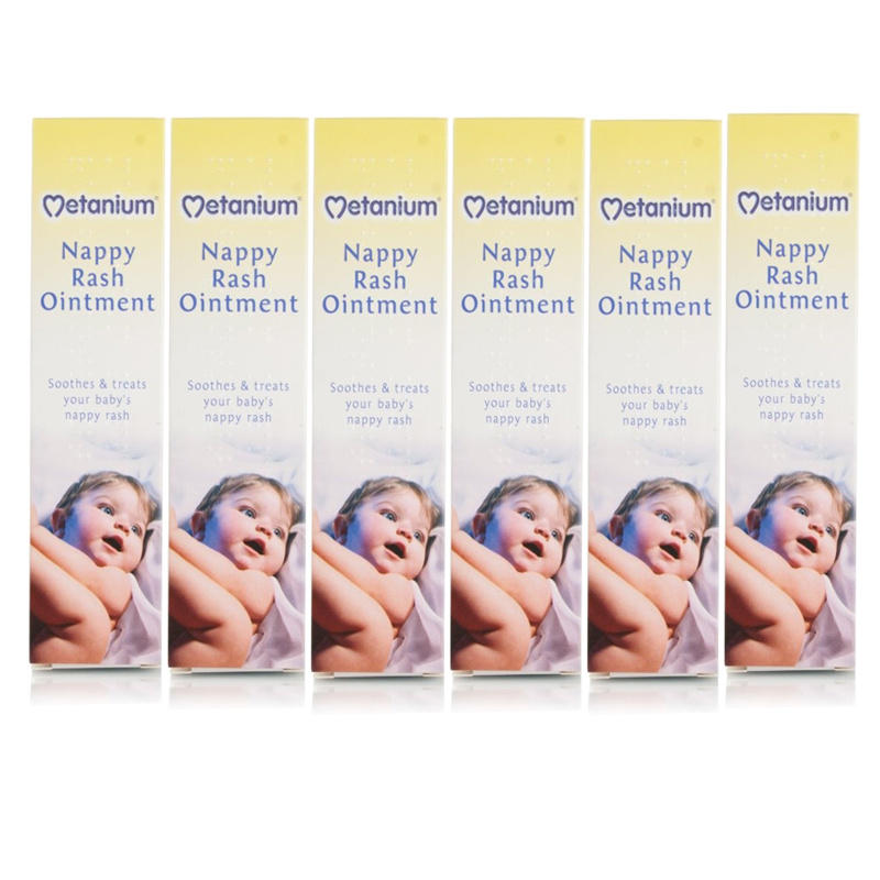 Metanium Nappy Rash Ointment 6 Pack