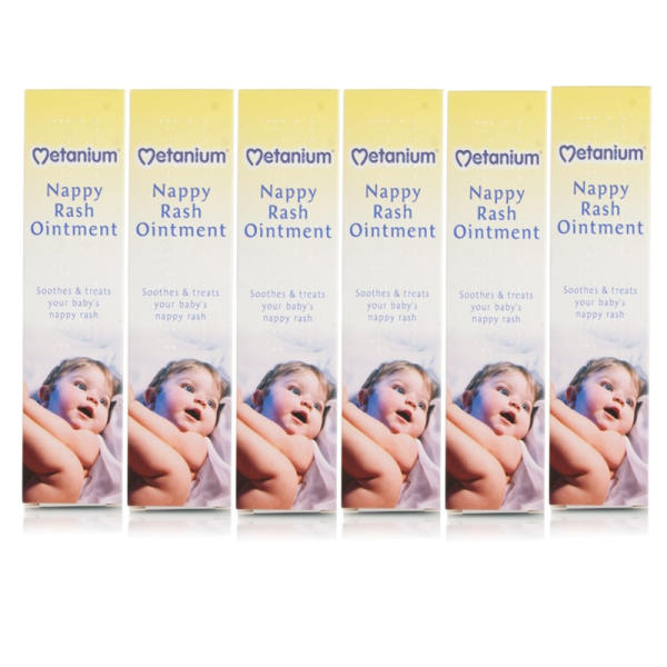 Metanium Nappy Rash Ointment - 6 Pack