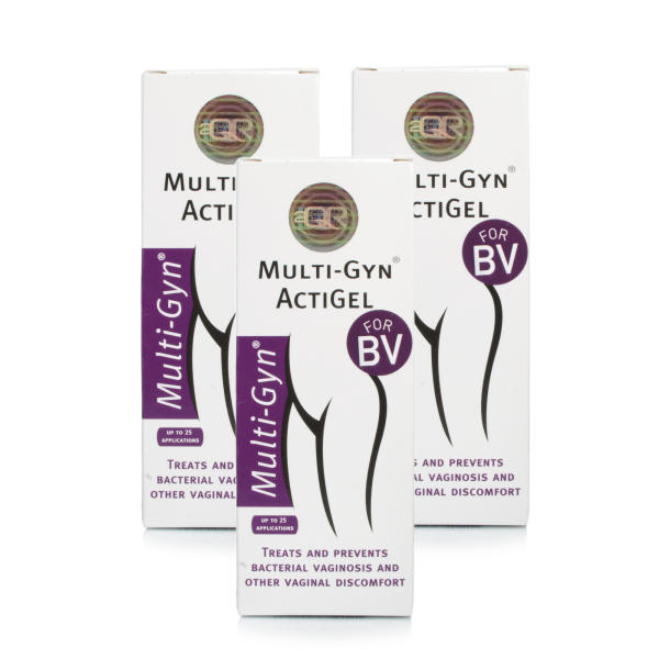 Multi-Gyn ActiGel Triple Pack