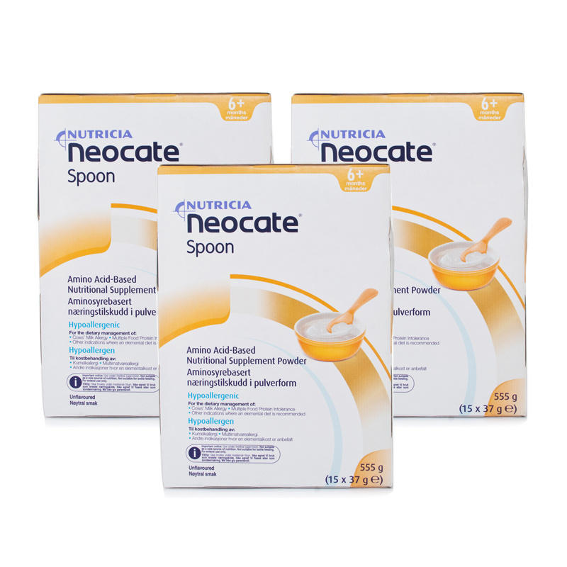 Click to view product details and reviews for Neocate Spoon Sachet Formula Triple Pack.