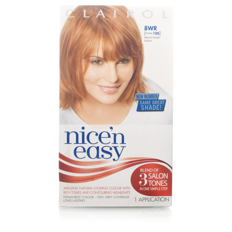 Buy Nice N Easy Natural Golden Auburn Permanent Hair Colour 108 1