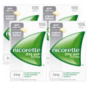 Nicorette 2mg Original Gum Four Pack (4 x 105 Pieces)