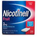 Nicotinell 2mg Fruit Sugar Free Chewing Gum