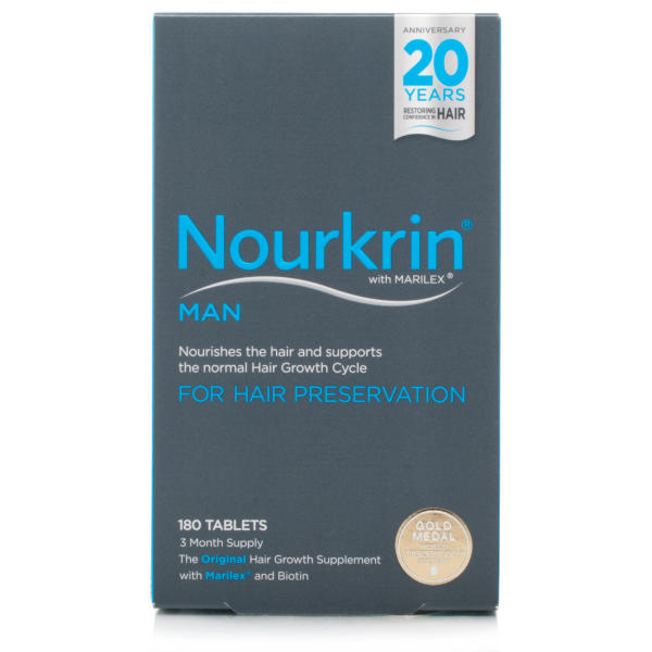 Nourkrin Man For Hair Preservation - 6 Month Supply