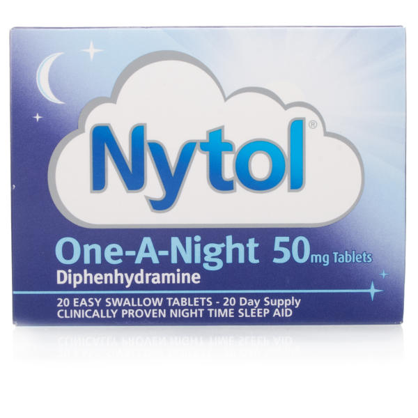 Nytol One-A-Night 50mg Tablets