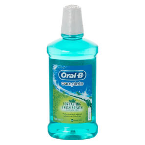 Oral-B Complete Mouthwash Fresh Mint