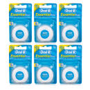 Oral-B Essential Waxed Dental Floss - 6 Pack