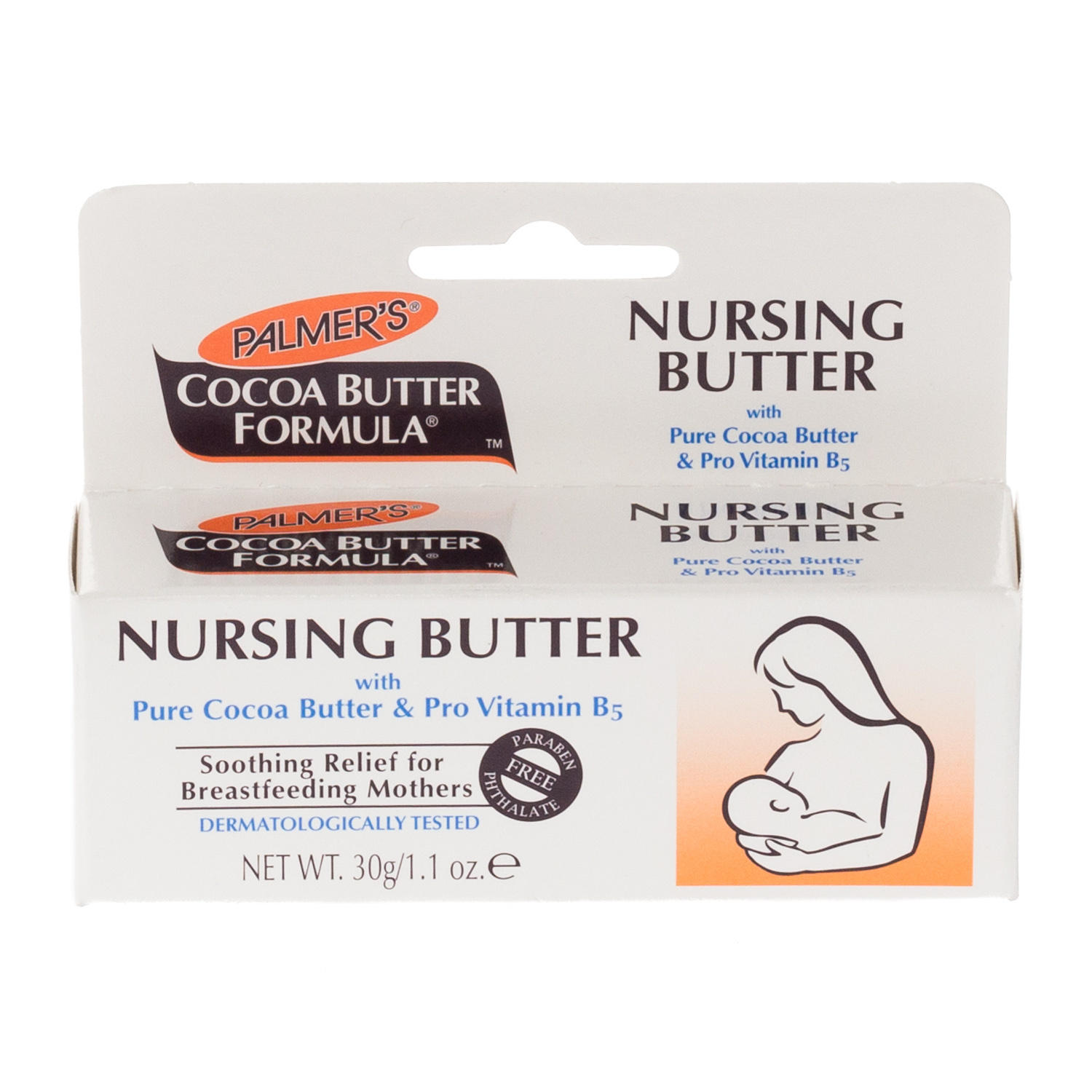 Click to view product details and reviews for Palmers Cocoa Butter Nursing Butter.
