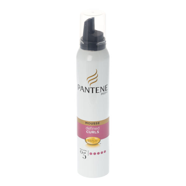 Pantene Defined Curls Extra Strong Hold Mousse