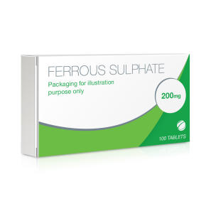 Ferrous Sulphate 200mg Tablets